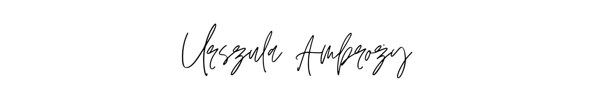 Urszula Ambroży | ulaambrozy